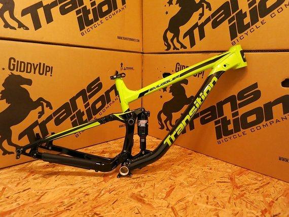 Transition Bikes 2017 Smuggler Alu Größe XL inkl. Rock Shox Monarch RT3 Dämpfer NEU!