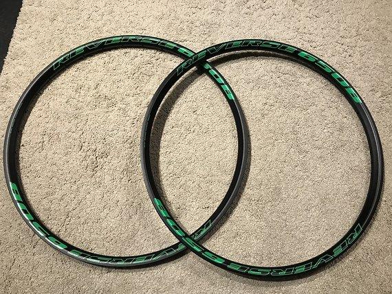 "Reverse Components 650B DH Felgen 31mm green 27,5"" *PAAR*"
