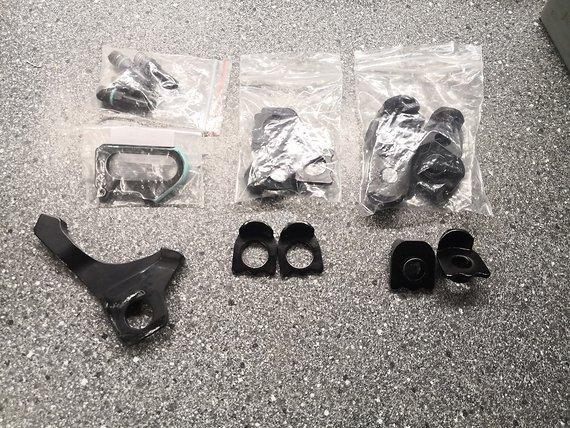 Meybo BMX Rahmen Ersatzteile, Kettenspanner, Adapter