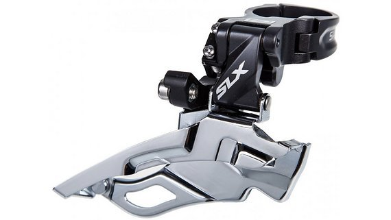 Shimano SLX 2-fach Umwerfer, down-swing neu