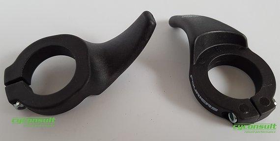 Cyconsult® Daumengriffe - ergonomische, innere Lenkerhörnchen - Race Thumb Grips