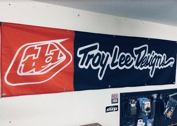 Troy Lee Designs Banner, Flagge, Transparent - NEU