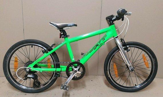 Mtb Cycletech Moskito 20 Zoll Leichtbau Kinderrad grün