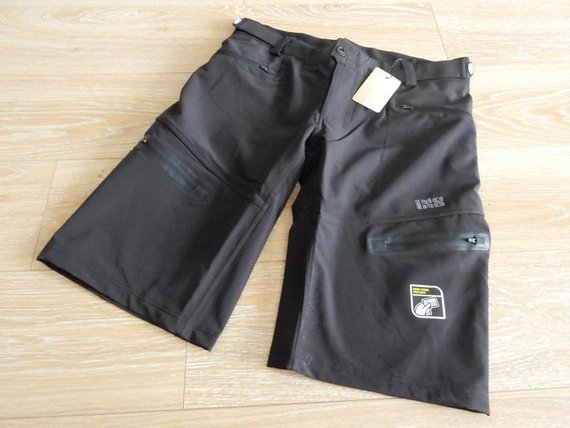 IXS Sever 6.1 BC Shorts Men black Hose, TOP PREIS!