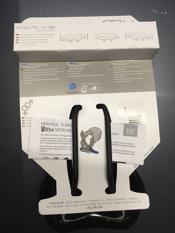 SQlab 6OX - 13cm Sattel NEU