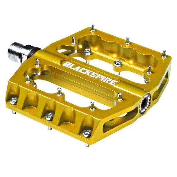 Blackspire SUB 420 Plattformpedale / Pedale gold *NEU*