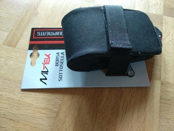 Mvtek Satteltasche schwarz 12x7x5cm