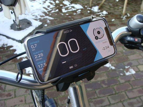 Cobi Bosch Navi, bedienung Fahrrad mit ihrem Handy