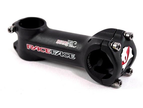 Race Face DEUS XC Oversize MTB-Rennrad Vorbau 100 mm 31,8 6 Grad schwarz