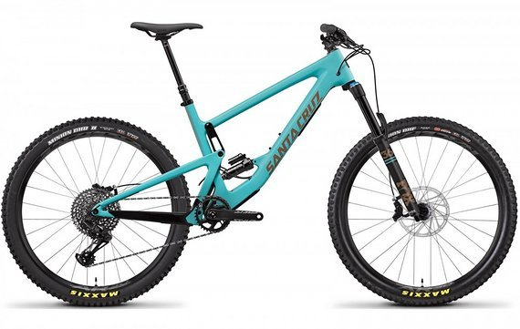 Santa Cruz Bronson 2019 C S-Kit Gr. M Blau