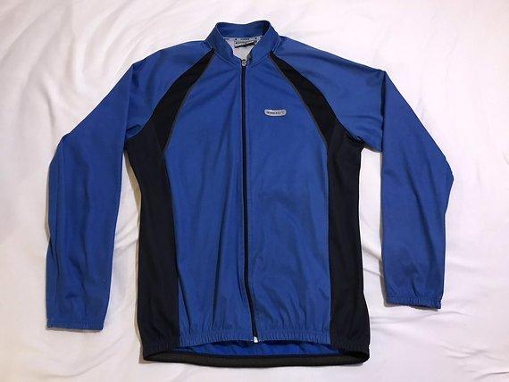 Shimano Radjacke, blau, XL