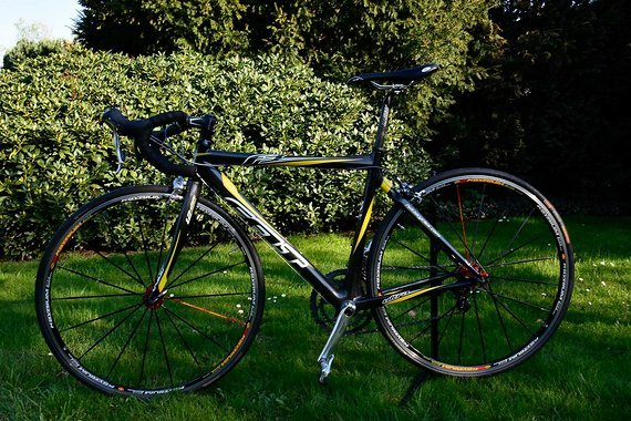 Felt F3 52Cm Reduzirter Preis Carbonrennrad mit Dura Ace und Mavic Ksyrium ES Laufrädern