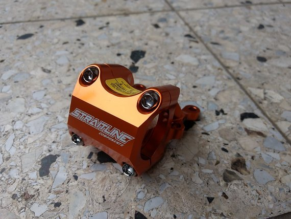 Straitline Direct Mount 31,8mm 50mm orange für Boxxer Dorado Fox 40