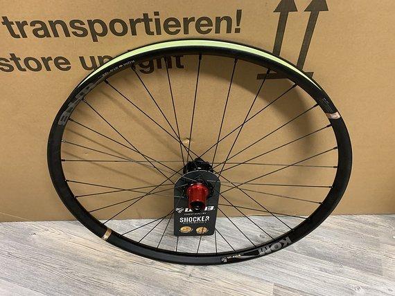Shocker Wheels SHOCKER ENDURO 650b  - WTB Kom i29  - Enduro Hinterrad-Neu
