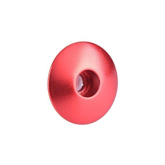 Steuersatzkappe Alu Cap A-Head Kappe Vorbau 100% Rote