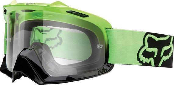 Fox Air Space MX Goggle green / clear *NEU*