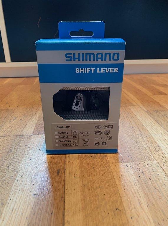 Shimano Shift Lever / Schalthebel SLX I-Spec B