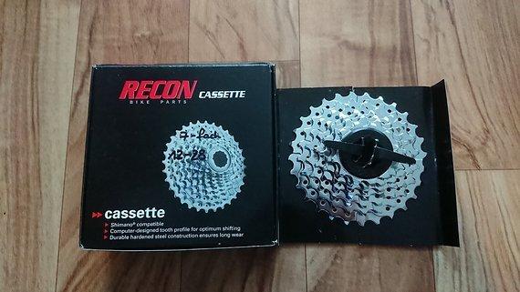 Recon Kassette 7-fach 12-28