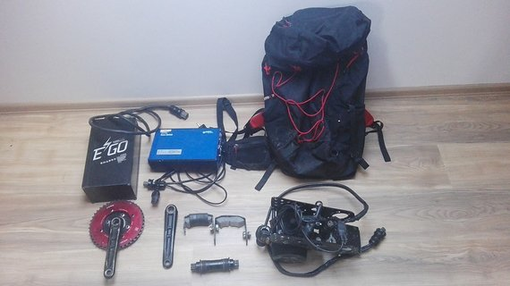Ego Kit 2400 Watt Masters Set Elektro Antrieb für Downhill Freeride Enduro