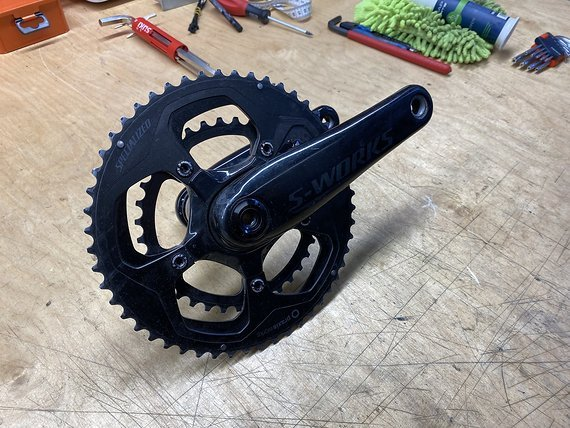 Specialized S Works Power Cranks - Dual Side 172.5 mm