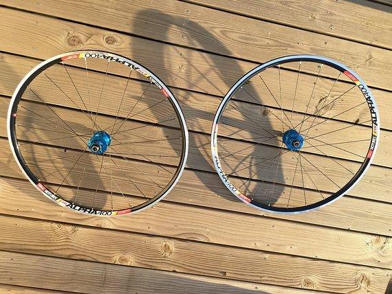 Hope Tech 28' Cyclocross LRS ztr alpha 400