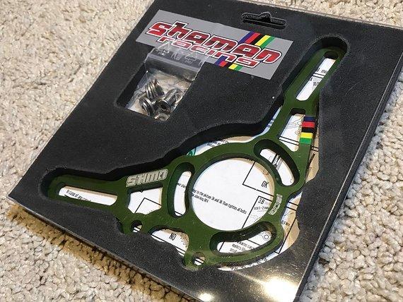 Shaman Racing Base Plate Ersatzteil ISCG03 Drake / Thor