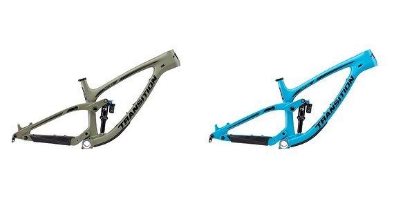 Transition Bikes Patrol Carbon Rahmen, Modell 2019, Blau Gr. M und XL