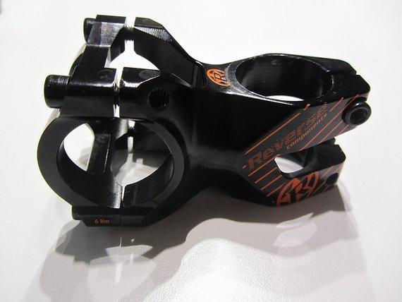 Reverse Components Black One Enduro - 31,8mm-50mm lang, Orange