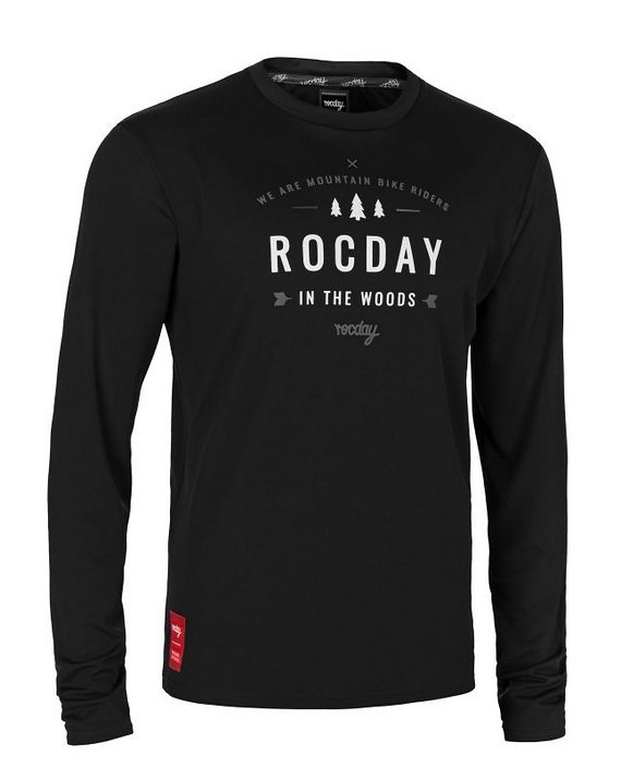 Rocday PATROL Jersey SANITIZED® Black, Gr. L