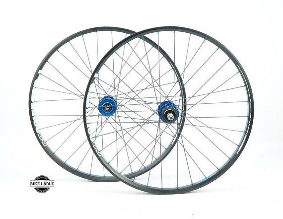 """NS Bikes Fundamental Laufradsatz Singlespeed 26"""" Dirt / Trial / mit Hope Pro 4 Evo Naben / Bike-Lädle Laufradbau"""