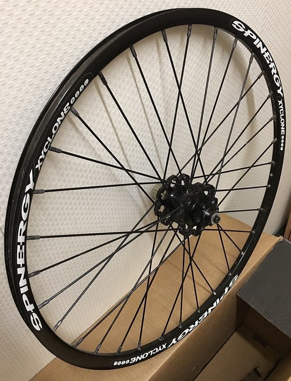 Spinergy MTB Felgenring: Xyclone Disc, weiße Decals