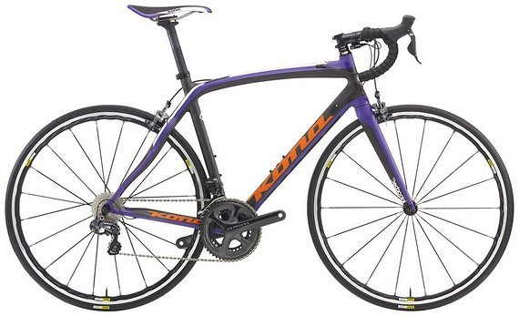 Kona Zing CR Road 2016 Purple Ultegra Di2 Carbon Neu
