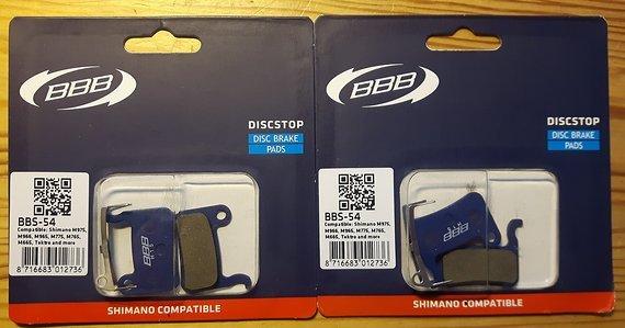 Shimano BBB BBS-54 Bremsbeläge neu originalverpackt
