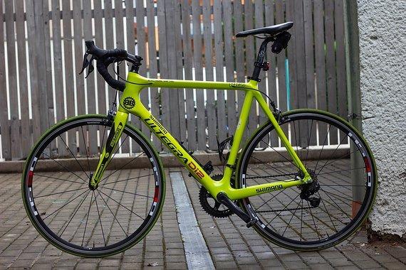Giant TCR Carbon Rennrad aus Shimano Ultegra DI2 Testflotte - Rennrad - Gelb - Größe 56