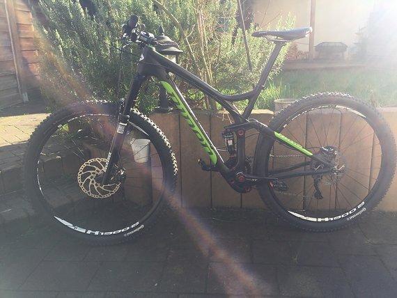 Niner Bikes RIP 9 Carbon Größe M, XT 2x10, neuwertig