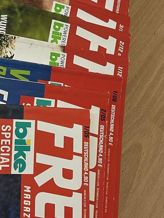 Freeride Magazine 2005-2012 komplett