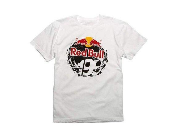 Fox Red Bull - Travis Pastrana Tee Gr. S white