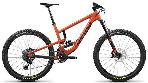 Santa Cruz NOMAD 4 C 27.5 S-KIT Orange Gr. XL 2019 *Austellungsmodell*
