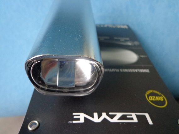 Lezyne Hecto Pro 50  LED Lampe  50 Lux Alu USB Neu