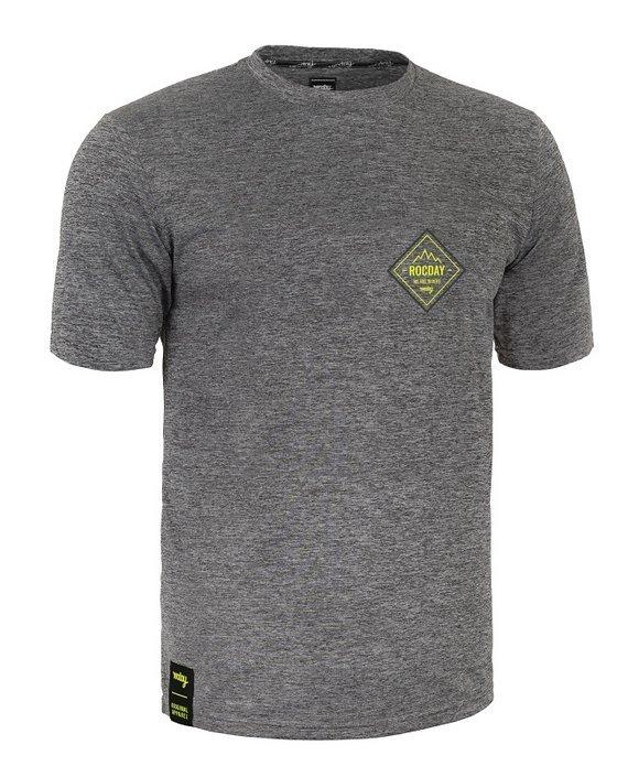 Rocday SPOT Jersey SANITIZED®, Melange/Yellow, Gr. XL