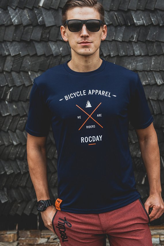 Rocday ELEMENT jersey SANITIZED® Dark Blue, Gr. XL
