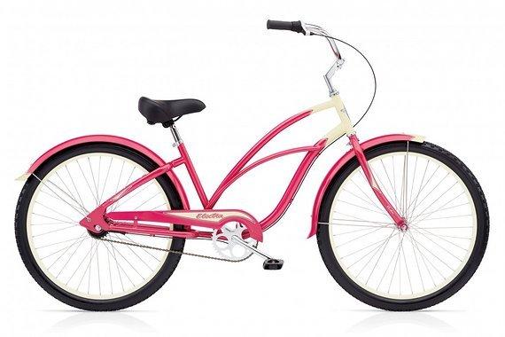 Electra 3 I In Pink  Neupreis 899,-€ Electra Citybike Beach Cruiser Stadtrad