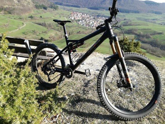 Liteville 301 MK14 XL Enduro schwarz; Fox, Eightpins, Carbonlaufräder