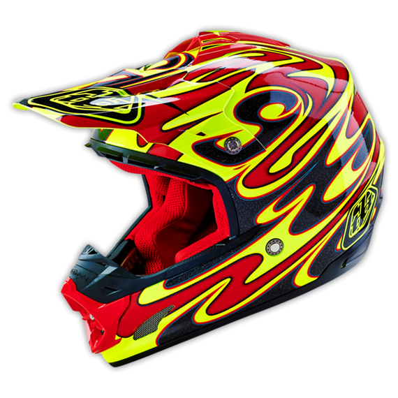 Troy Lee Designs SE3 HELM Gr.M REFLECTION YELLOW