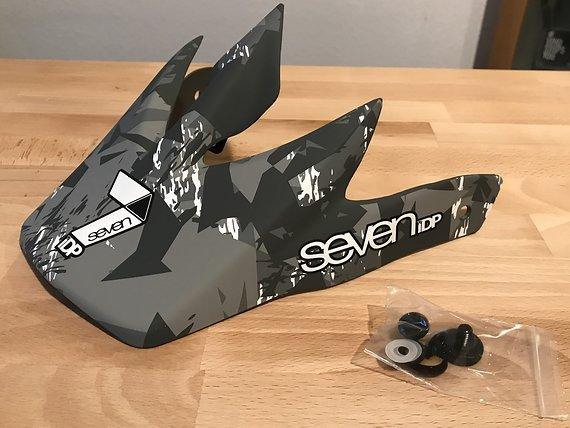Seven Idp M1 Fullface Visor / Visier Ersatzteil *NEU*