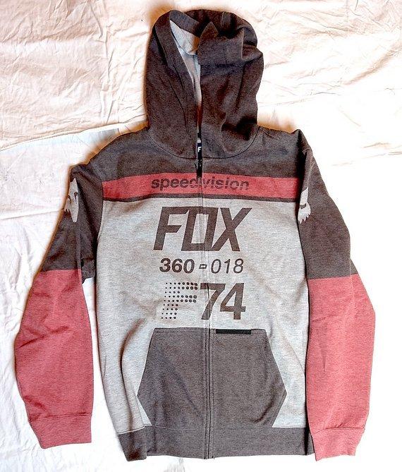 Fox FLEECE ZIP-HOODY DRAFTR SCHWARZ - XL - NEU