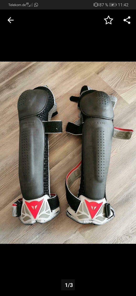 Dainese Knee Guard Pro 05, Gr. M