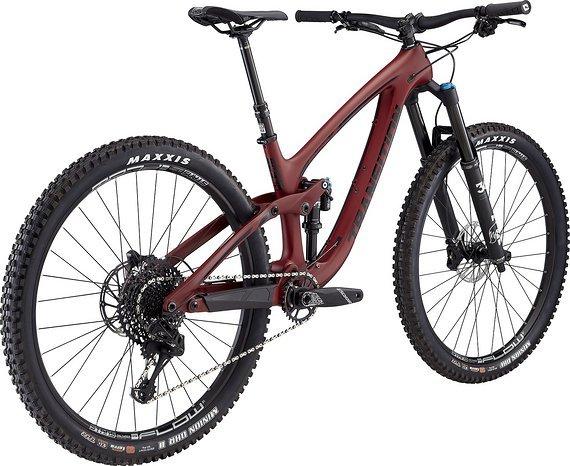 Transition Bikes Komplettbike Sentinel Carbon GX - Größe XL - rot