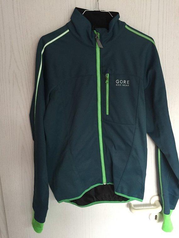 Gore Bike Wear Jacke Countdown 2.0 Softshell Windstopper Gr. M