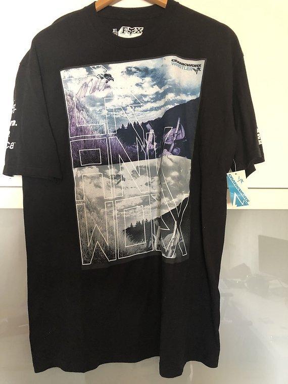 Fox Crankworx Whistler Shirt mit Autogramm von Bearclaw